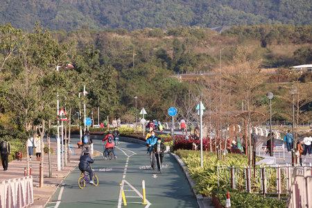 31 Dec 2020 Cycle Tracks in Tseung Kwan O, Hong Kong