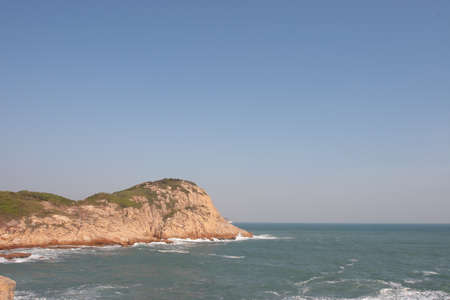The landscape of tai tau chau, shek o