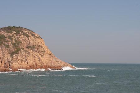 View of sea and mountain, Shek O, Wan Chai, Hong Kong