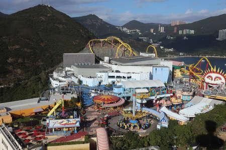 18 Nov 2020 the Ocean Park Thrill Mountain at hong kong