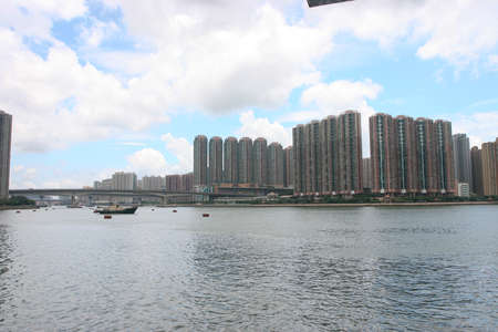 2 July 2005 the Residential area at Rambler Channel hong kong