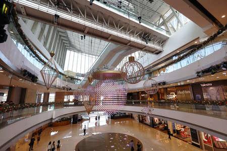 27 Nov 2020 the Christmas decoration in shopping mall. hong kong