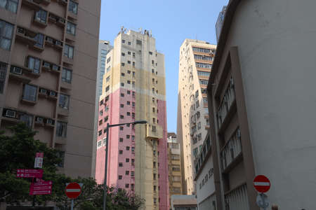 26 March 2021 the residential area at central, hong kong
