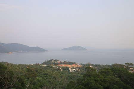 23 July 2021 the coast line of the Lantau South, hong kong Imagens