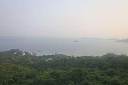 23 July 2021 the coast line of the Lantau South, hong kong