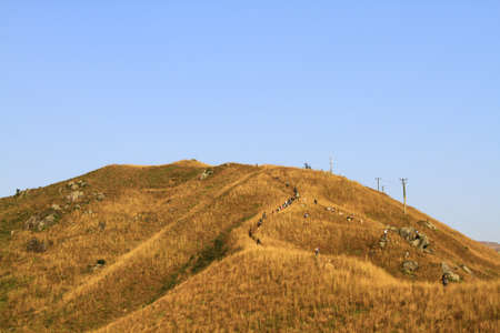 Beautiful Mountains In Kai Kung Leng, hong kong
