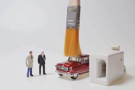 the fun of mini of car on Machine Wash