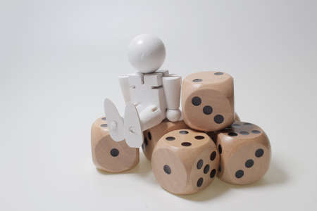 the figure  and the many  Dice,  Chance and risk