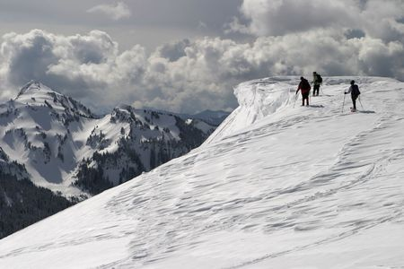 Climbers At The Edge