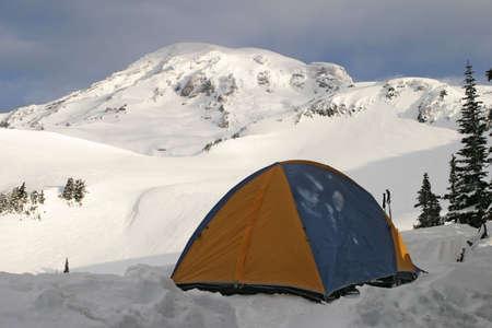 Tent on Rainier Imagens