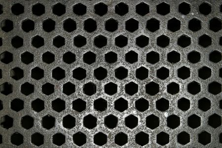 kilmainham: Steel floor grid from Kilmainham Jail
