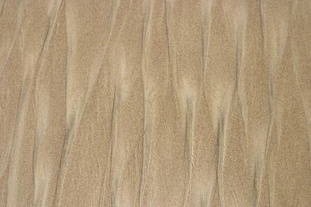 runoff: Beach sand after a passing wave and little runoff rivulets has arranged the grains into a pattern. This pattern is somewhat similar to the inked pattern insets in some hardcover books. This image can be used as a neutral background.
