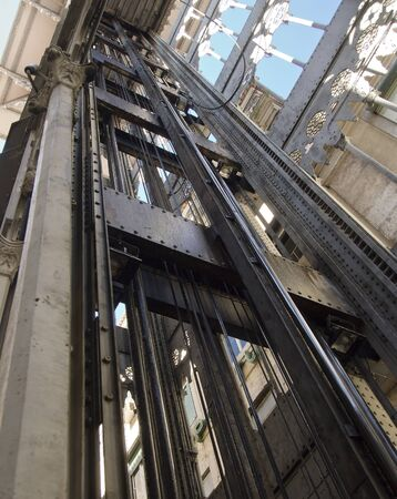 carmo: The Santa Justa elevator, also known as the Elevator of Carmo, was built to connect downtown Lisbon to Bairro Alto. It is 45 meters (147ft) high, and remains an interesting example of post-Eiffel Tower iron architecture. Editorial