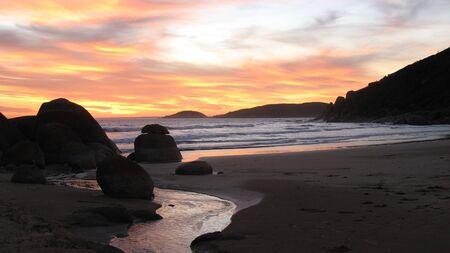 wilsons promontory: ocean sunset