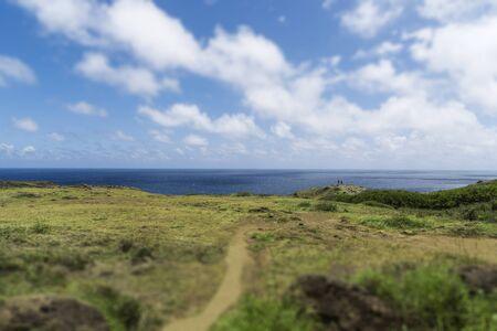 Hana highway trail on Maui Hawaii Imagens - 80145858