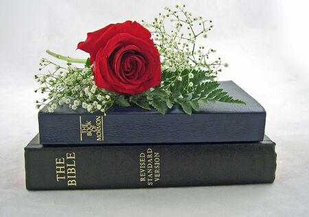 mormon: holy bible and the book of mormon