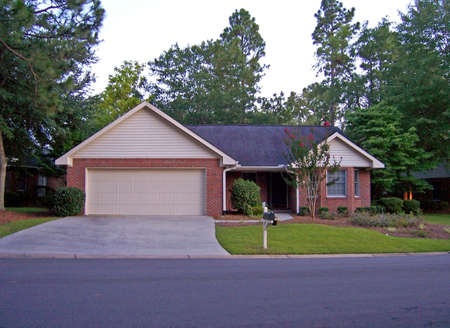 single  home in beautiful retirement community