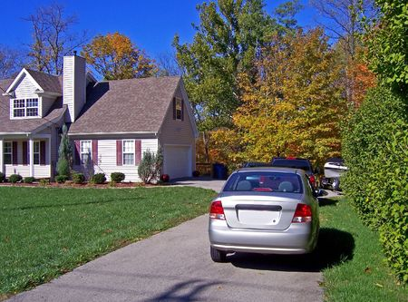 driveways:  home