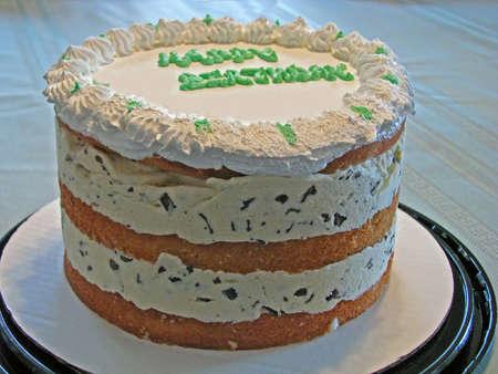 multi layered: happy birthday multi layered ice cream cake