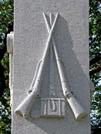 commemoration: civil war veterans historical cemetery grave headstone