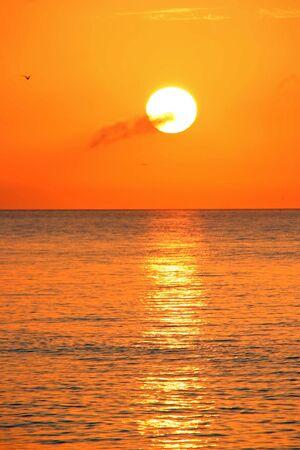 A Beautiful Sunrise On Sanibel Island Florida Stock Photo - 7057029