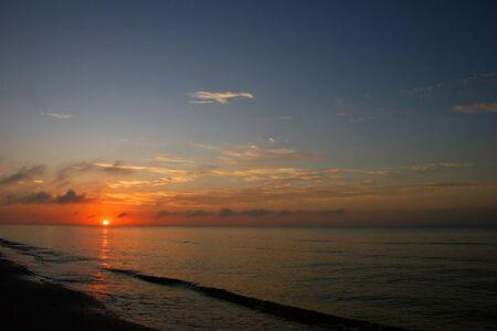 a beautiful sunrise on Sanibel Island Florida Stock Photo - 7057083