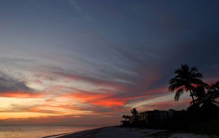 Oceanfront Beach Condominium Sunset Sanibel Island Florida photo