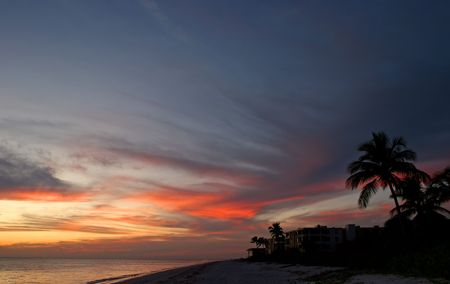 Oceanfront Beach Condominium Sunset Sanibel Island Florida photo