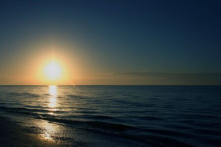 A Beautiful Sunrise On Sanibel Island Florida photo