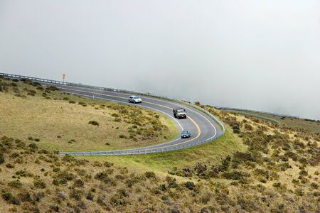 Mountain Road Haleakala National Park Maui Hawaii photo