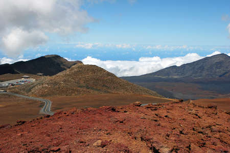 Visitor Center Haleakala National Park Maui Island Hawaii Stock Photo - 13468958