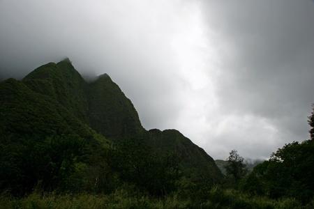 Needle Iao Valley State Park Wailuku Maui Hawaii Stock Photo - 13468963