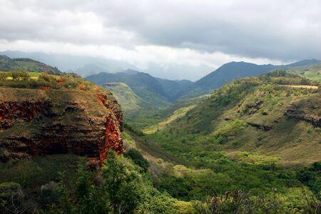 waimea canyon state park: Waimea Canyon State Park West Kauai Hawaii