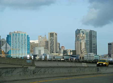 municipal editorial: SAN FRANCISCO, CA - NOVEMBER 17: Cityscape in Daytime November 17, 2012 in San Francisco, California
