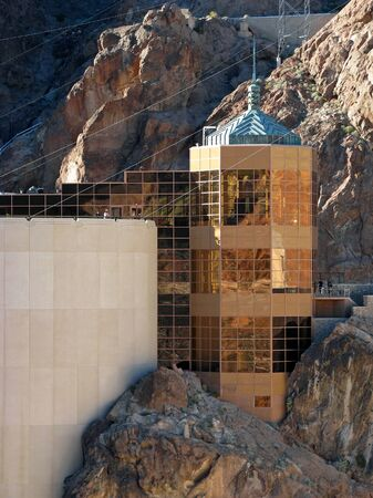 nevada: Hoover Dam on the Nevada Arizona Border