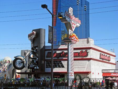 memorabilia: LAS VEGAS NEVADA USA   NOVEMBER 03: Harley Davidson Cafe 2012