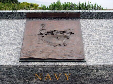 3d art: Navy 3D Art Sculpture in San Francisco California