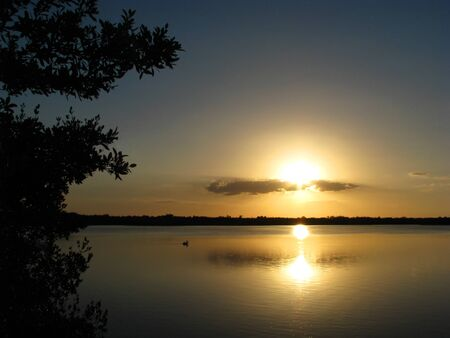 ding: Sunset Ding Darling Wildlife Refuge Sanibel Florida