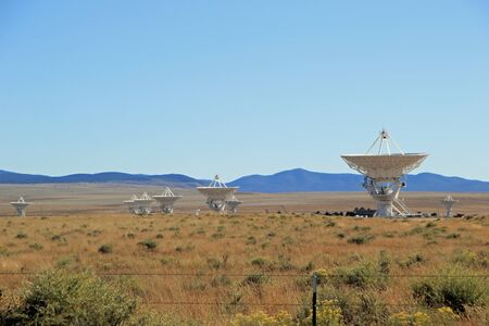 National Radio Astronomy Observatory Very Large Array Telescope in New Mexico