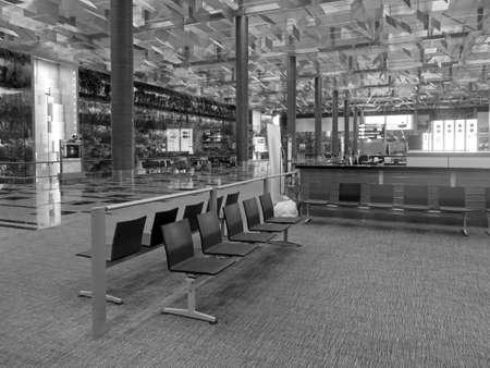 CHANGI SINGAPORE ASIA - NOVEMBER 24: Singapore Changi Airport November 19, 2014 Editöryel