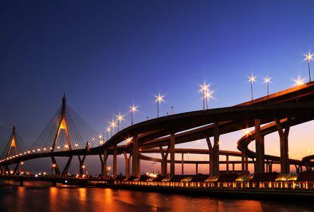 bridge in Thailand photo
