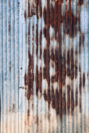 corrugated iron  photo