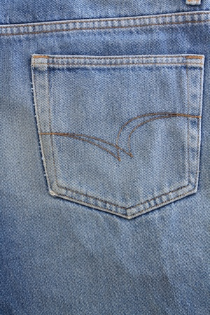 Blue jeans pocket  Stock Photo - 8941648