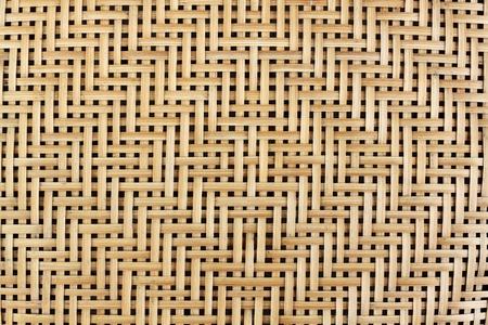 thatch: woven bamboo