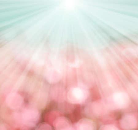blinking: abstract sunny bokeh
