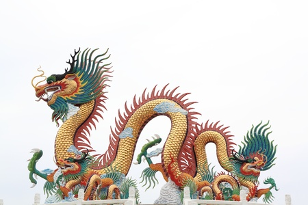 dragon statue  photo