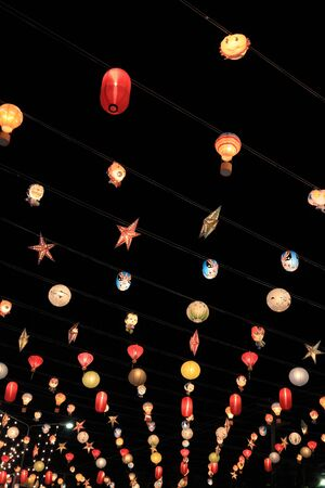 hin: paper lanterns,hua hin,Thailand