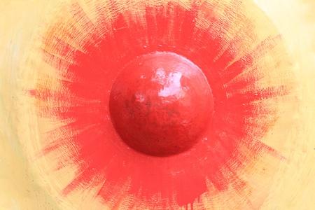 Gong: close up gong