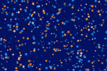 random stars pattern photo
