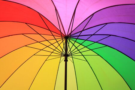 color umbrella  photo